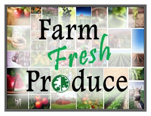 Farm Fresh Produce Poster 2
